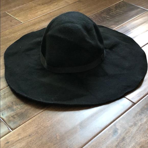 ec37ac68b Floppy wool wide brim hat